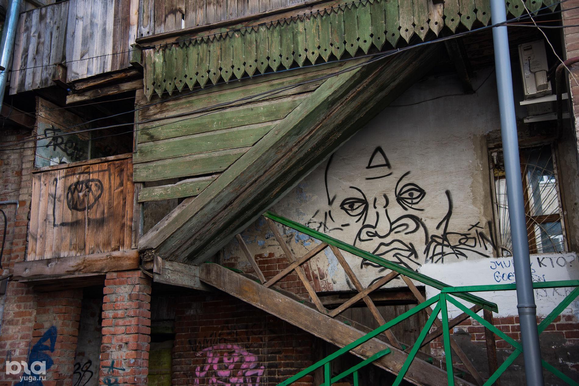 В старом центре Краснодара ©Фото Елены Синеок, Юга.ру