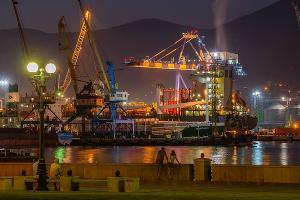 Новороссийский морской торговый порт ©Фото из группы facebook.com/Группа-НМТП-260502114018101