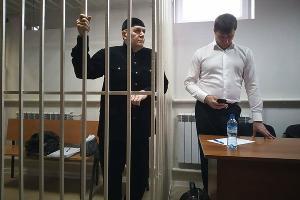 Оглашение приговора Оюбу Титиеву ©Фото правозащитного центра «Мемориал»