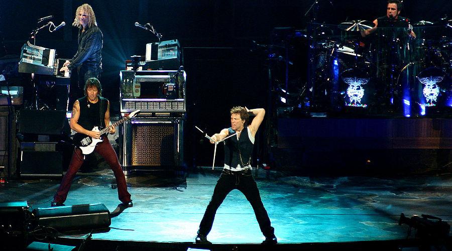 Концерт Bon Jovi, 2007 год ©Фото Rosana Prada - Flickr, CC BY 2.0, commons.wikimedia.org