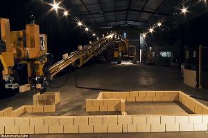 Робот-строитель ©Фото dailymail.co.uk
