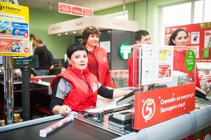 Первая «Пятёрочка» открылась в Адыгейске ©Фото Елены Синеок, Юга.ру