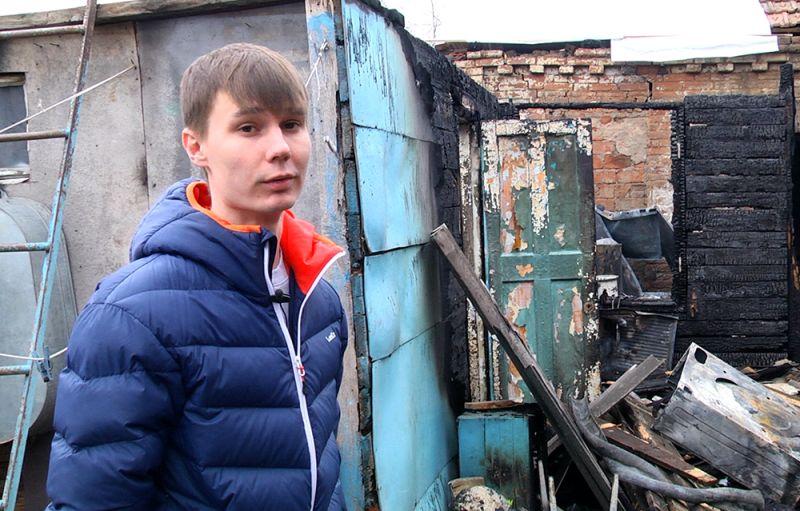 Мужчины-герои изКраснодара вытянули семью изпылающего дома