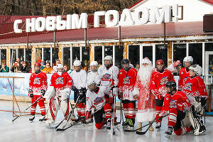 Открытие ледового катка в Ставрополе ©Эдуард Корниенко, ЮГА.ру