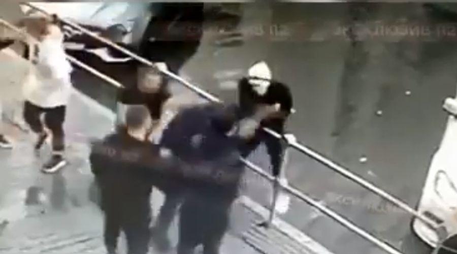 ©Скриншот видео с камеры видеонаблюдения