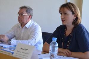 Наталья Чабан ©Фото пресс-службы министерства экономического развития Республики Крым
