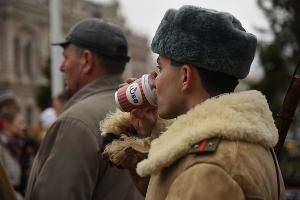 Реконструкция Дня освобождения Краснодара от фашистов ©Елена Синеок, ЮГА.ру