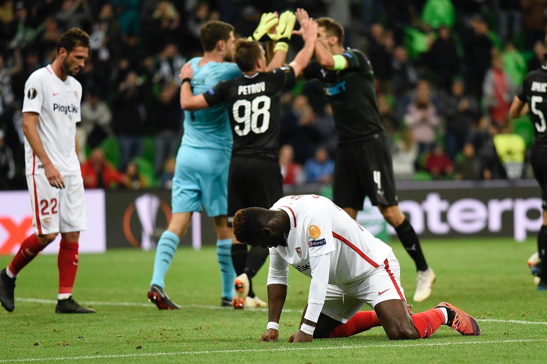 «Краснодар» обыграл «Севилью» вдомашнем матче группового этапа Лиги Европы