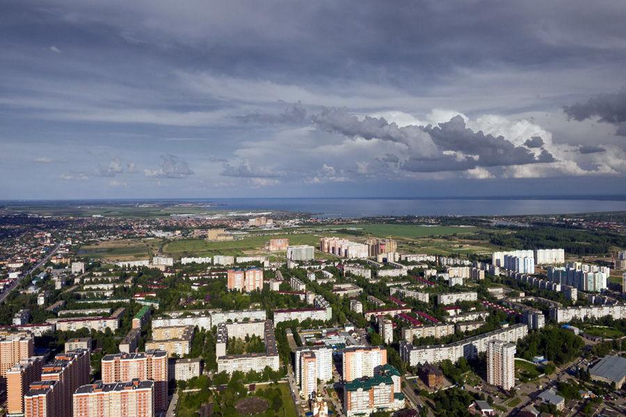 Вид на Краснодарское водохранилище ©Фото Виталия Тимкива, Юга.ру