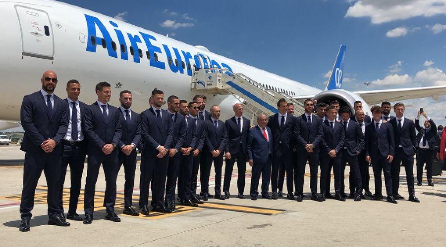 Сборная Испании по футболу ©Фото со страницы twitter.com/sefutbol