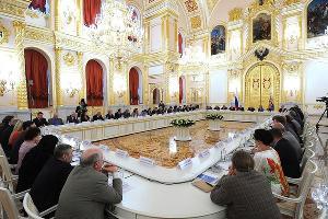 Заседание Совета по правам человека ©Фото пресс-службы Кремля, kremlin.ru