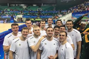 Команда «Открытого лагеря РФБ» ©Фото с официального сайта Россиийской федерации баскетбола, russiabasket.ru