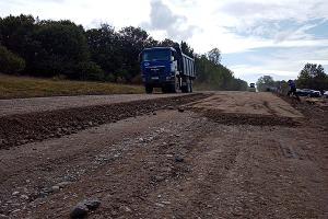 Ремонт дороги к плато Лагонаки ©Фото Елены Малышевой, Юга.ру