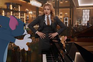 Кадр из фильма «Том и Джерри», реж. Тим Стори, 2021 год ©Фото с сайта kinopoisk.ru