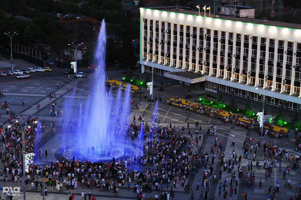 Сезон фонтанов вКраснодаре начнется вконце апреля