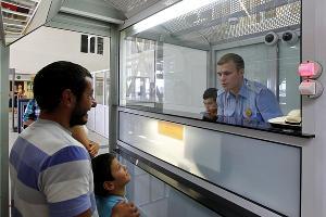 Пропускной пункт на границе между Россией и Абхазией ©Влад Александров, ЮГА.ру