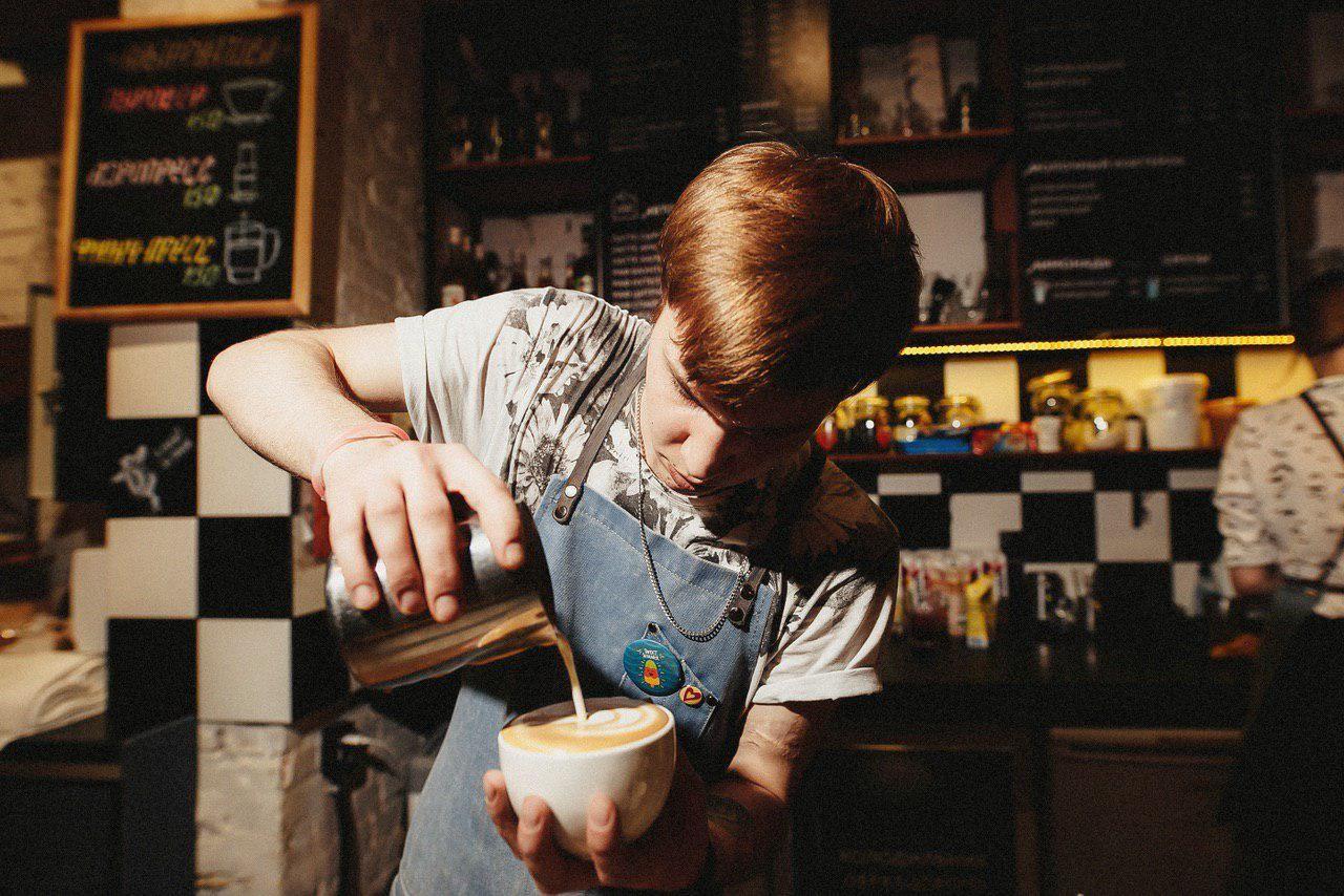 «Зацепи кофе» на Красной, 137 ©Фото предоставлено Алексеем Зацепилиным