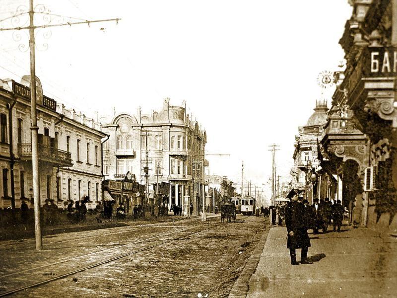 Улица Красная, 1917 год ©myekaterinodar.ru