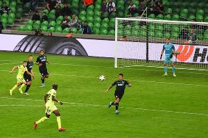 Матч «Краснодар» — «Хетафе», Краснодар, 4 октября 2019 года ©Фото Елены Синеок, Юга.ру