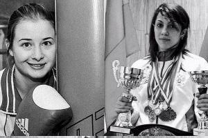 Элина Гисмеева и Фатима Жагупова ©Фото пресс-службы Федерации кикбоксинга России