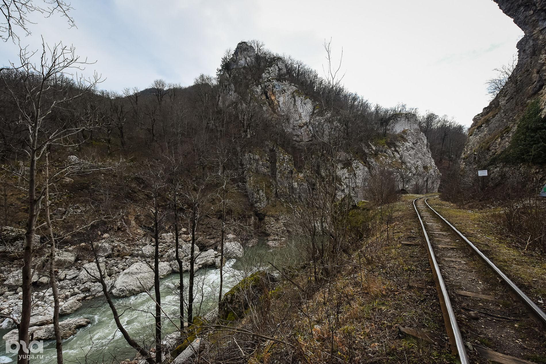 Апшеронская узкоколейная железная дорога ©Фото Елены Синеок, Юга.ру