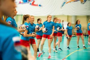 Сборная России по гандболу U-17 ©Фото пресс-службы Федерации гандбола России