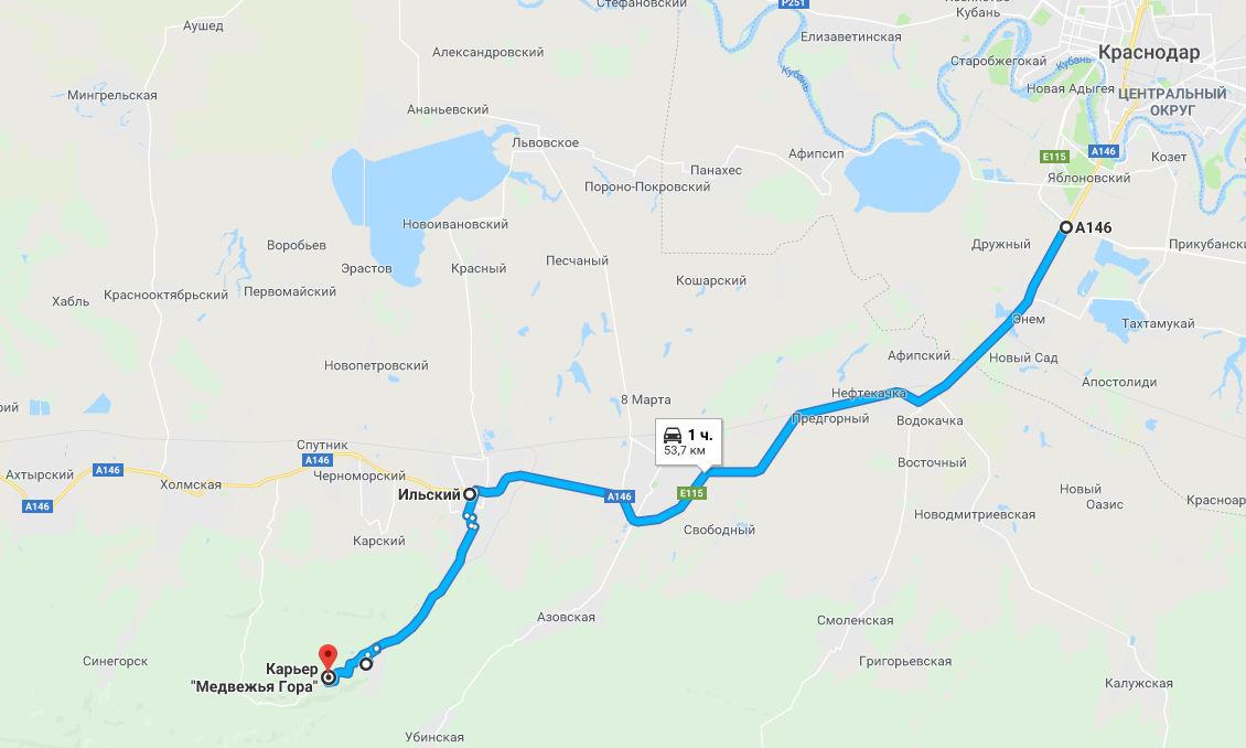 Маршрут путешествия ©Графика сервиса «Яндекс.Карты» и Google.Maps