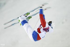 Бронзовый призер Игр-2014 могулист Александр Смышляев ©РИА Новости
