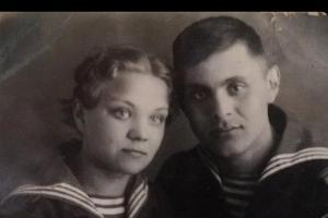 Василовы Василий Прохорович и Лидия Ивановна ©Фото из семейного архива