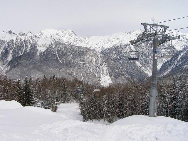 Вгорах Сочи объявлено экстренное предупреждение из-за опасности схода лавин