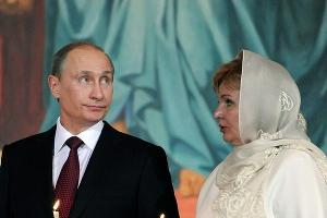 Владимир Путин и Людмила Путина ©daynice.livejournal.com