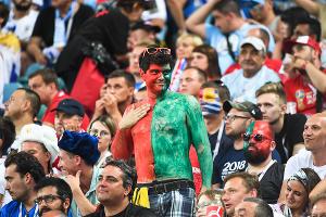 Сборная Уругвая выбила Португалию из чемпионата мира по футболу ©Фото Елены Синеок, Юга.ру