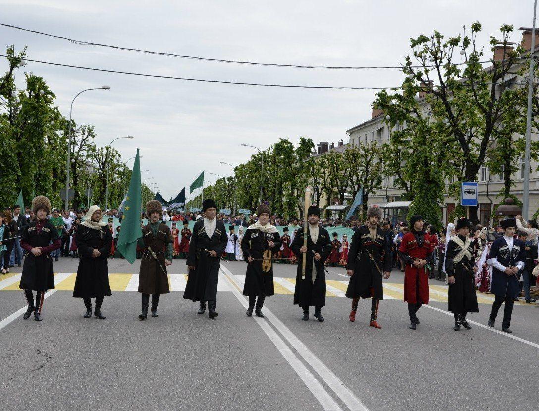 Памятное шествие в Нальчике ©Фото с сайта commons.wikimedia.org
