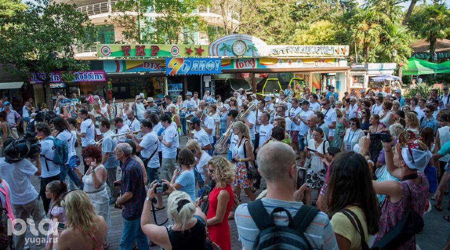 "Открытие фестиваля ""Акваджаз"" в Сочи ©Нина Зотина, ЮГА.ру"