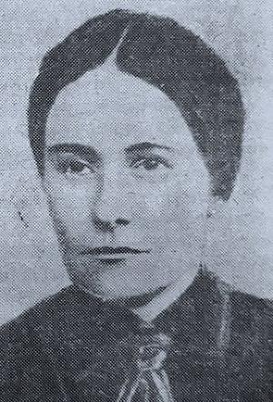 Правсковья Вишнякова, революционерка, член РСДРП, вела подпольную агитационную деятельность с 1912 по 1915 год, за что была сослана в Якутию. Вернулась на Кубань после Февральской революции.
