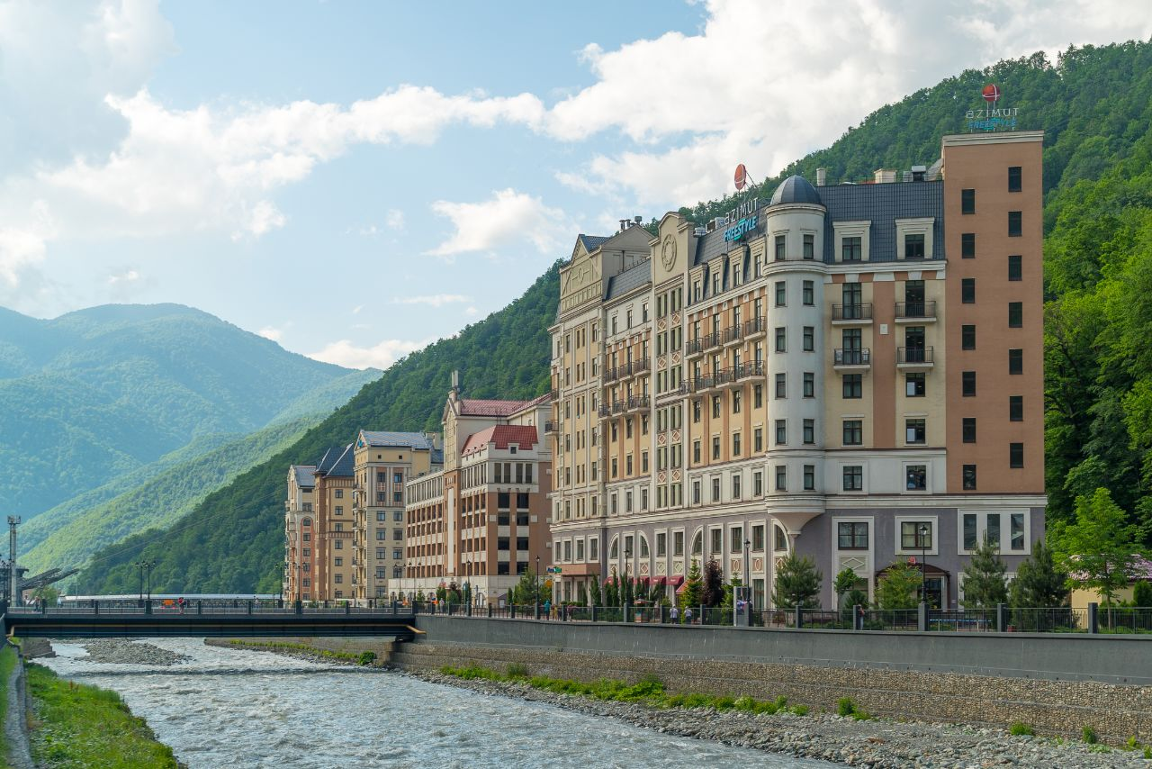 «AZIMUT Отель FREESTYLE Роза Хутор» ©Фото пресс-службы сети AZIMUT Hotels