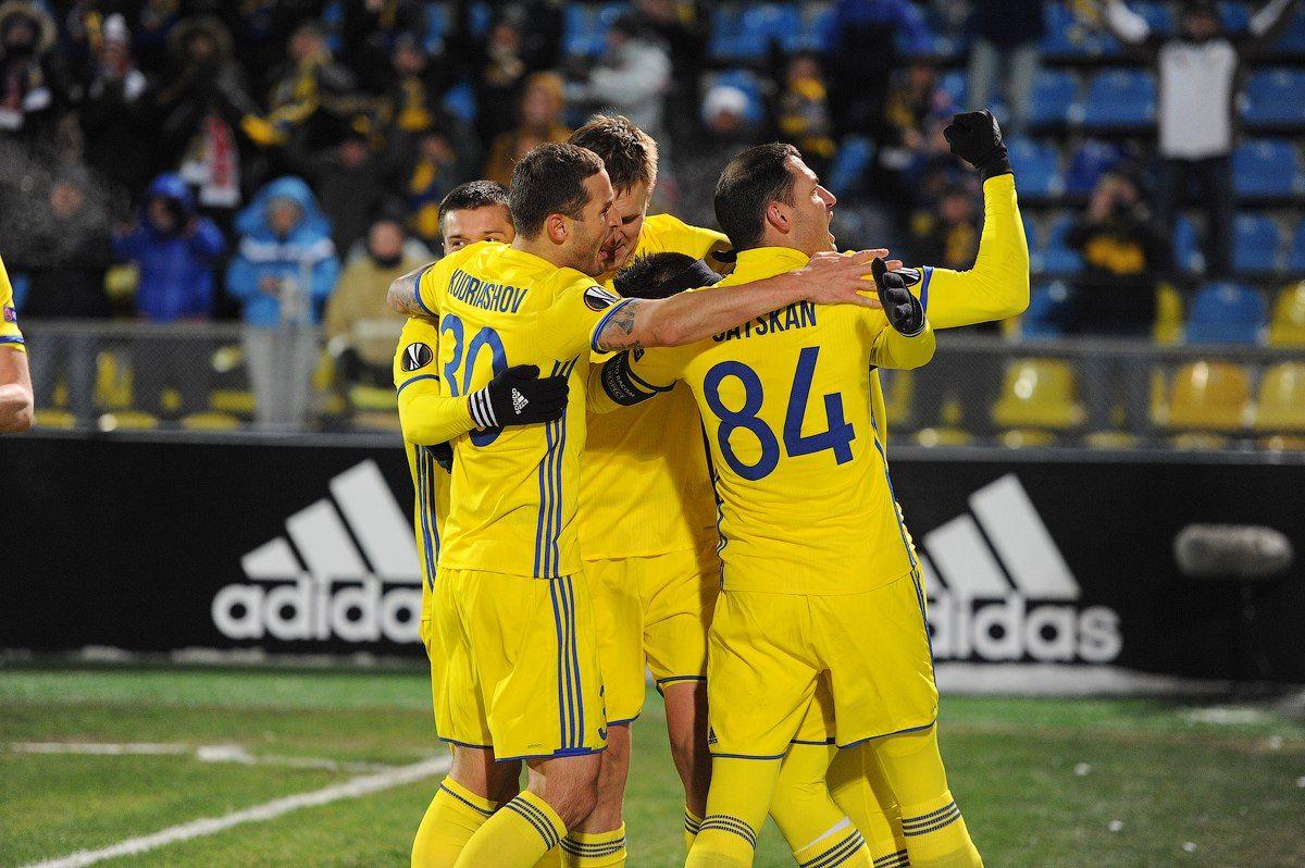 4:0— «Ростов» превратил игру вПраге вформальность