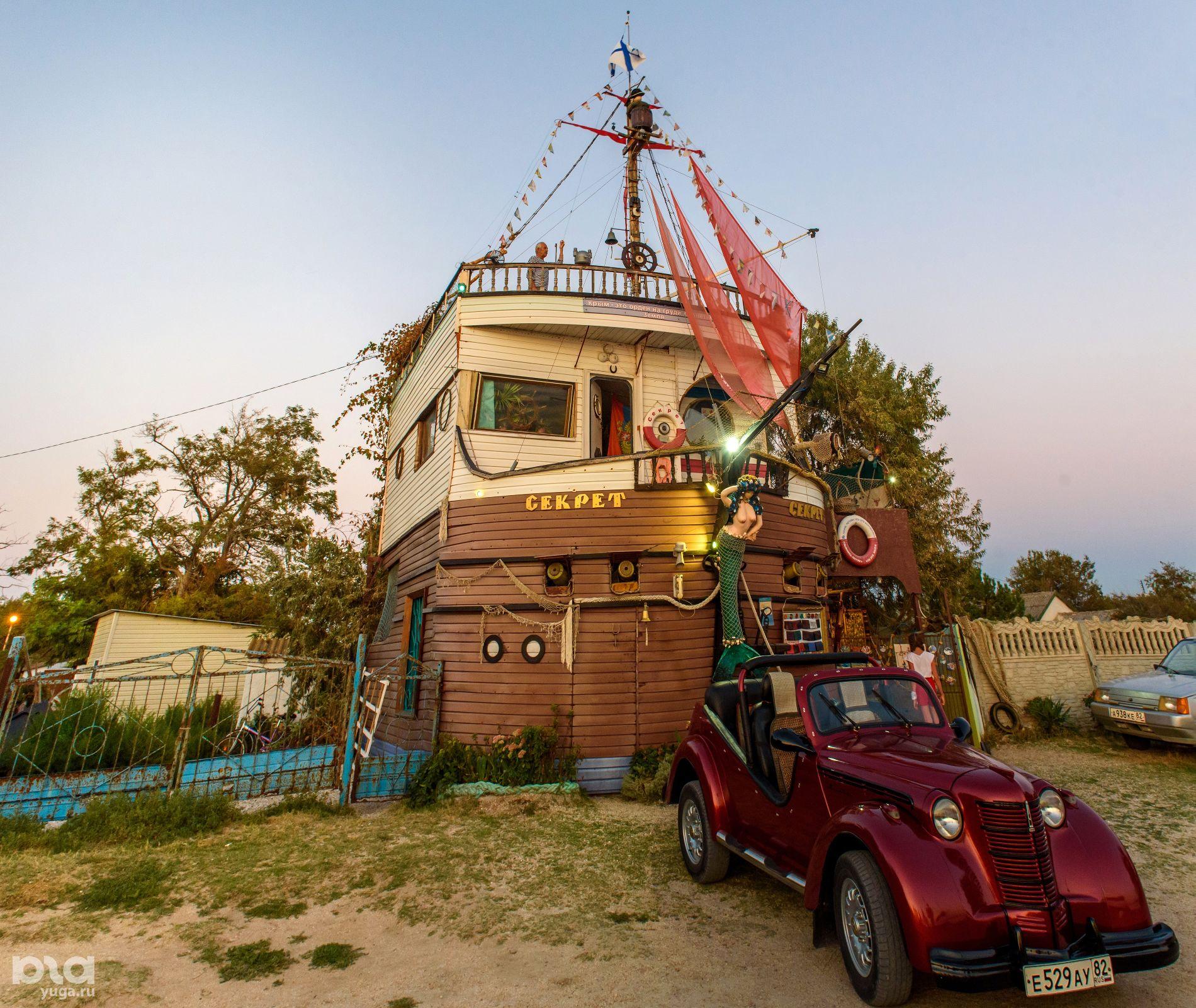 Дом-корабль в Русской бухте ©Фото Дмитрия Андреева, Юга.ру