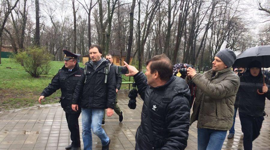 Задержание Мирослава Вальковича ©Фото Юга.ру