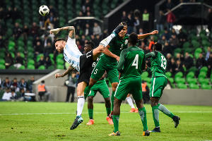 Матч Аргентина — Нигерия в Краснодаре ©Фото Елены Синеок, Юга.ру