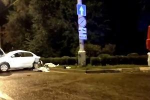 ©Скриншот видео из телеграм-канала «ЧП Краснодар»