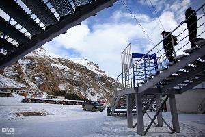 Открытие горнолыжного сезона на Эльбрусе ©Влад Александров, ЮГА.ру