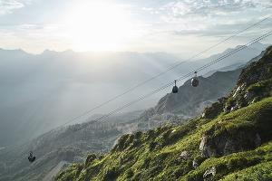 Канатная дорога «Кавказский экспресс» ©Изображение пресс-службы курорта «Роза Хутор»
