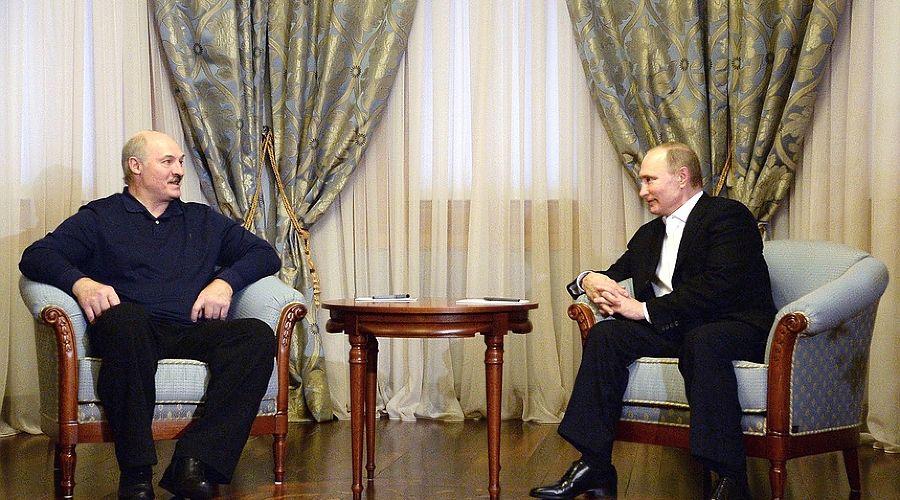 Встреча Путина и Лукашенко ©http://kremlin.ru/