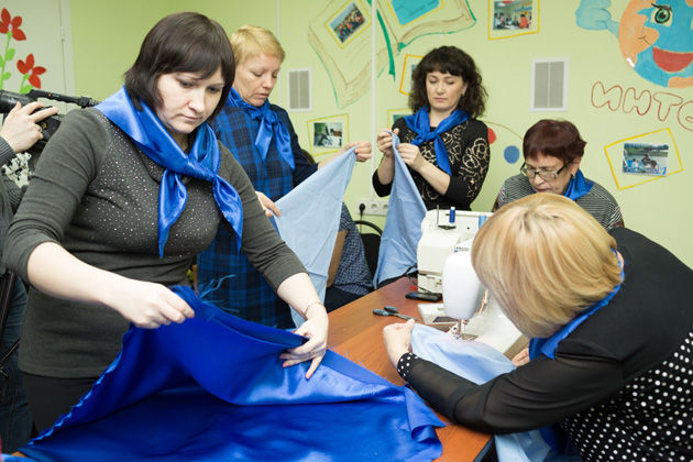 ВЖелезноводске к9мая сошьют наибольший «Синий платочек»