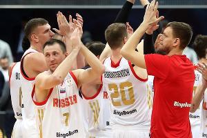 Сборная России по баскетболу ©Фото пресс-службы РФБ