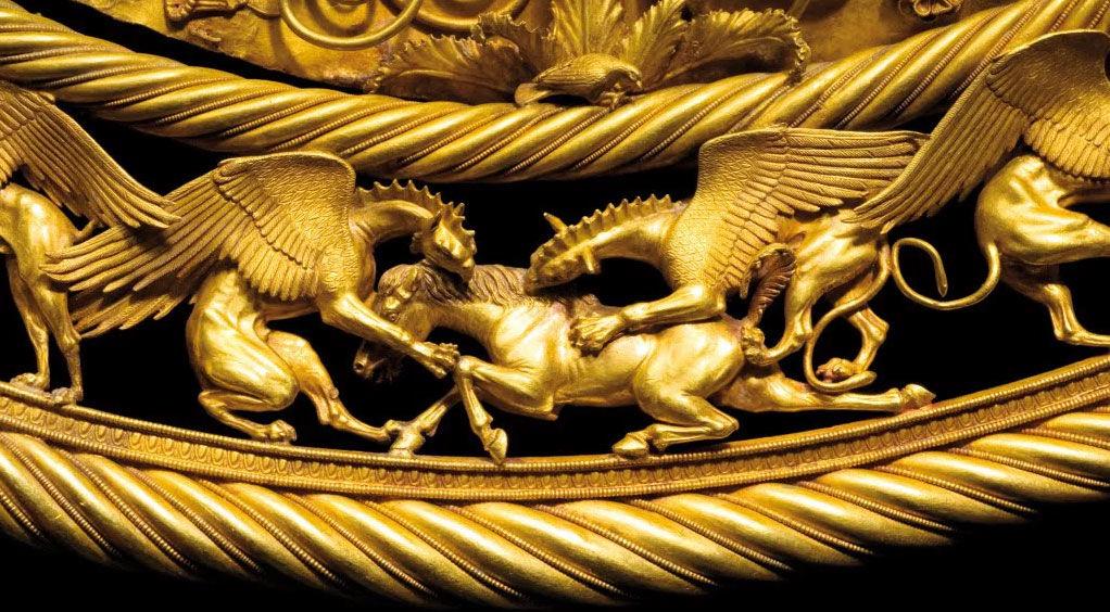 Скифское золото ©Фото с сайта commons.wikimedia.org