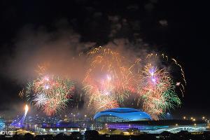 Церемония открытия XXII зимних Олимпийских игр в Сочи ©РИА Новости