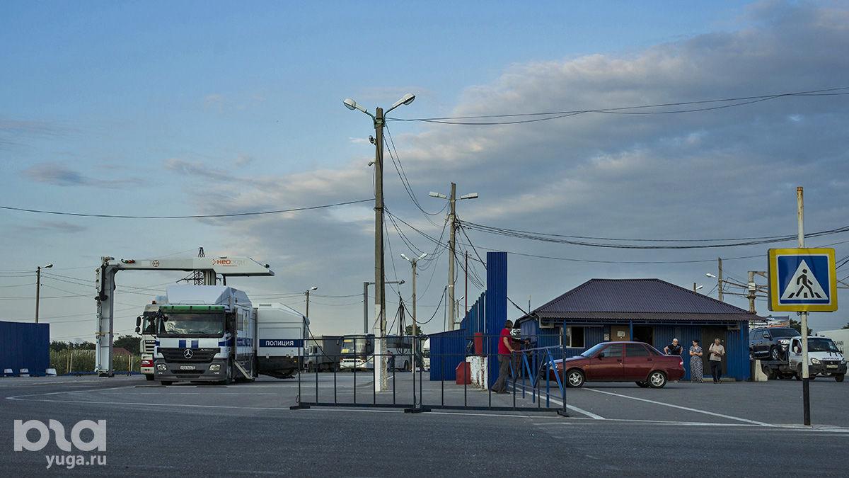 Контрольно-пропускные пункты по пути в Чечню ©Фото Евгения Мельченко, Юга.ру