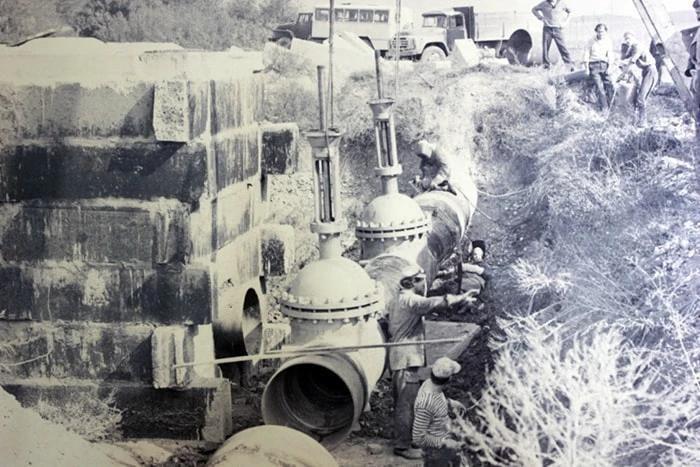 Строительство Троицкого группового водопровода ©Фото с сайта кубаньводкомплекс.рф